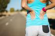 Female runner back pain