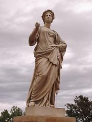 Greco-Roman style garden statue