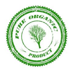 Pure organic stamp