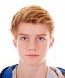 Leinwandbild Motiv Teenager Portrait