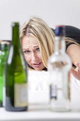 woman alcoholism