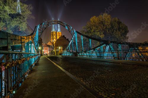 Wrocław most zakochanych - 61583723