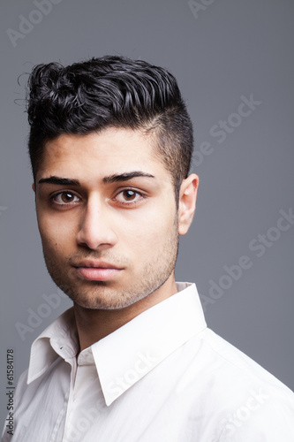 Portrait of a confident Young Asian Indian