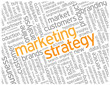 """MARKETING STRATEGY"" Tag Cloud (promotion advertising)"