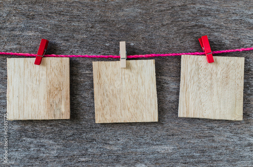 wood background frame