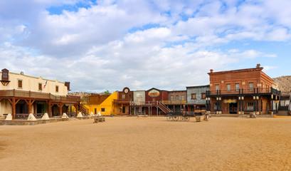 Mini Hollywood Wesren Town Almeria Andalusia Spain