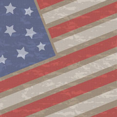 4th July Fabric Background