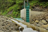 Microhydroelectric dam