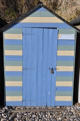 English Beach Hut