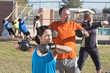 Men and Women in Boot Camp Fitness