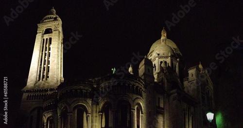 Paris Sacré choeur de nuit