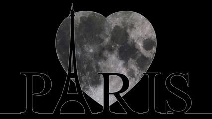 Moon - Eiffel