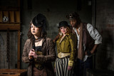 Steampunk Trio with In Retro Lab