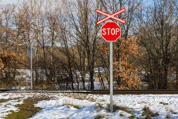 Stop en Cruce de Ferrocarril