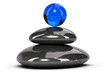 Relaxation Concept - Pebbles Stack