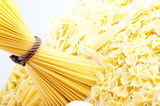 different types of pasta. whole wheat pasta, pasta