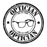 Optician stamp