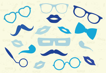 Hipster abstract background