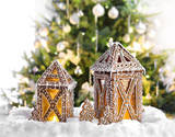 Christmas gingerbread lanterns