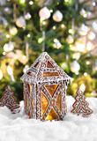 Christmas gingerbread lantern