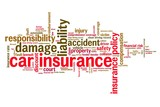 Car insurance concept - word cloud