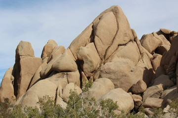Joshua Tree National Park California Rock Formations
