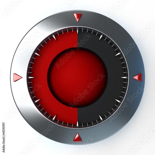 Editable dial compass