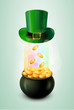Pot Of Gold & Green Hat