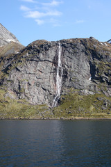 waterfalls of Reinefjord