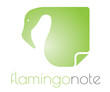 Flamingo note logo