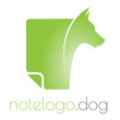 Dog note logo