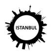 Skyline rund Istanbul