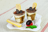 Tiramisu in glass