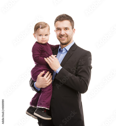Man with his baby