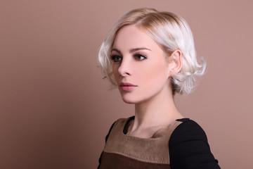 portrait kurze haare