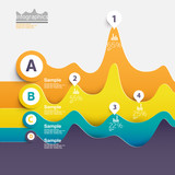 Colorful Infographic elements.