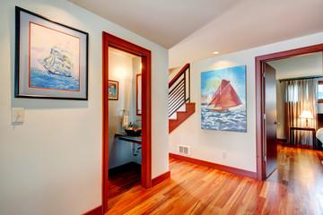 Interior design idea. Hallway