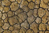 Dry arid soil with cracks