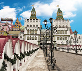 Moscow, old traditional architecture