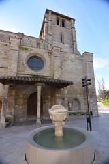 Iglesia de piedra en burgos (Camino de Santiago)