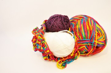 Balls of yarn in group