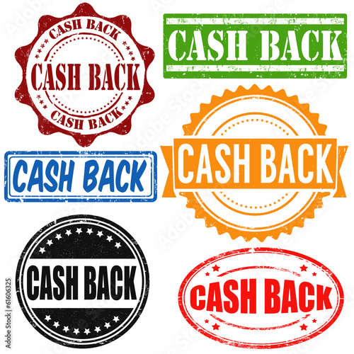 Cash back stamps