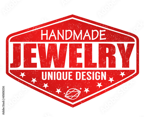 Handmade jewelry stamp