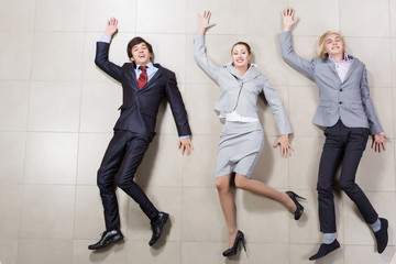 Funny businesspeople