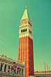 Vintage style image of Venice, Italy