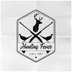 Hunting Fever Badge