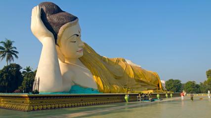 Naung Daw Gyi Mya Tha Lyaung. Bago. Myanmar (Burma)