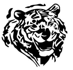 tigre stilizzata