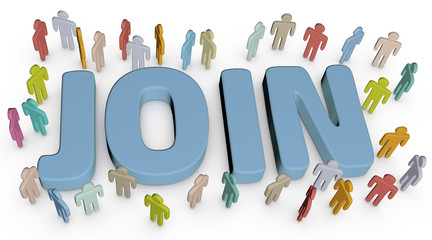 Invite people to join social business site