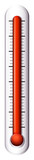 A measuring device for temperature